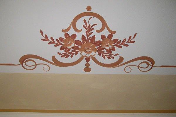 Decoro di un soffitto o parete / Deckenornament