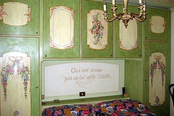 Mobile stanza decorata / Zimmerm�bel dekoriert